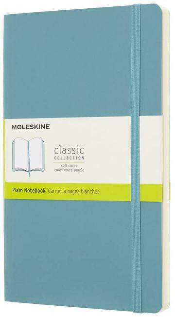 Moleskine Cl Notatb L Plain Soft Rf Bl