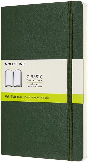 Notatbok Moleskine Classic Soft L - Blank Myrtle G