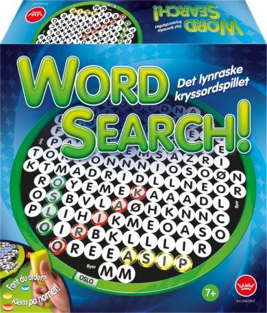 Spill Wordsearch - Kryssordspillet