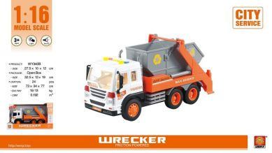Wenyi  Container Bil M/Lyd Og Lys (32Cm)