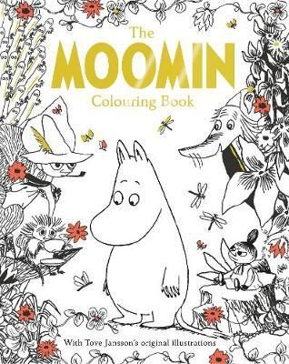 Moomin Colouring Book, The