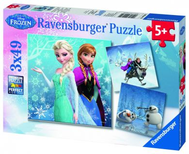 Puslespill 3X49 Frost Ravensburger