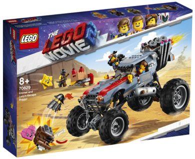 Lego Emmet Og Lucys Fluktbuggy! 70829