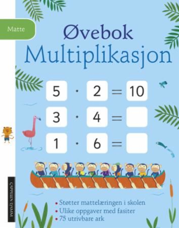 Øvebok. Multiplikasjon