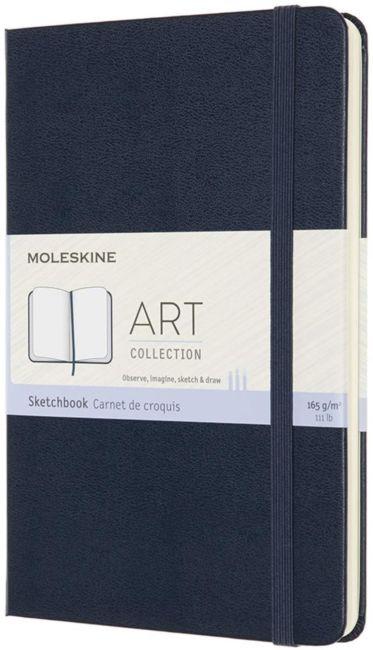 Skissekok Moleskine Art Hard M - Blank Sapphire Bl