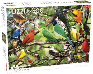 Puslespill 500 Exotic Birds Tactic