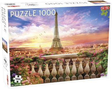 Puslespill 1000 Eiffeltårnet Tactic
