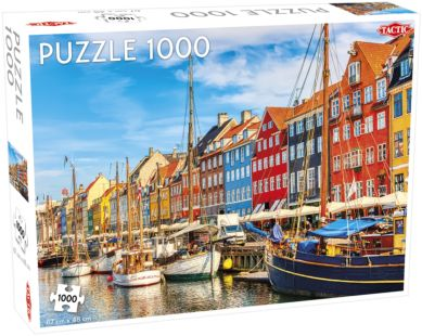 Puslespill 1000 Nyhavn Tactic