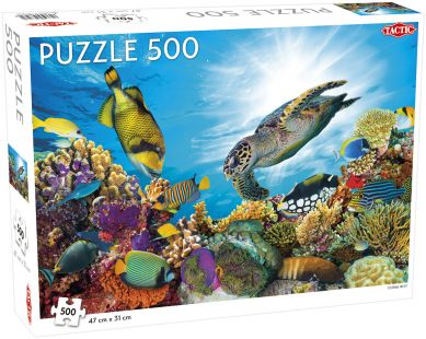 Puslespill 500 Coral Reef Tactic