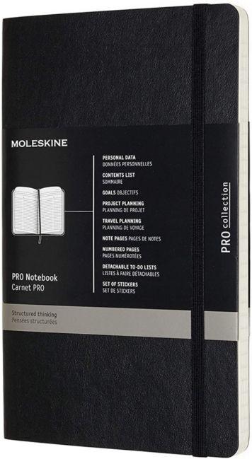 Moleskine Pro Large Soft Black