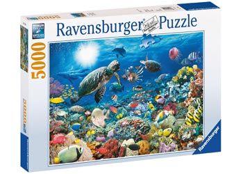Puslespill 5000 Beneath The Sea Ravensburger