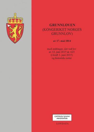 Grunnloven (kongeriket Norges grunnlov) av 17. mai 1814