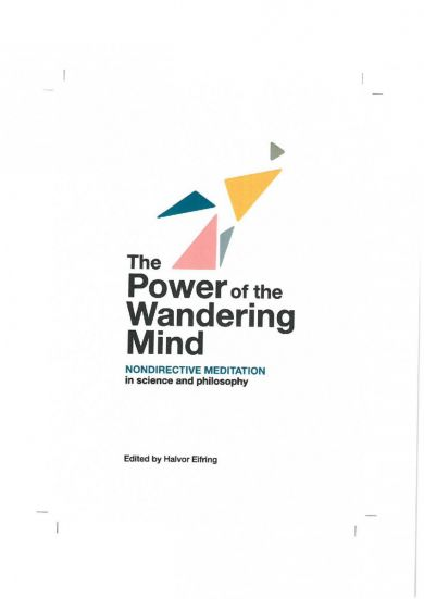 The power of the wandering mind