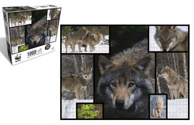 Puslespill 1000 Wolves WWF