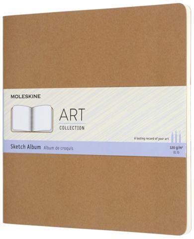 Moleskine Art Sketch Album Sq Kraft