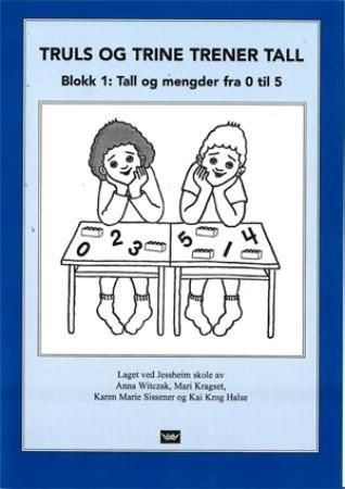 Truls og Trine trener tall