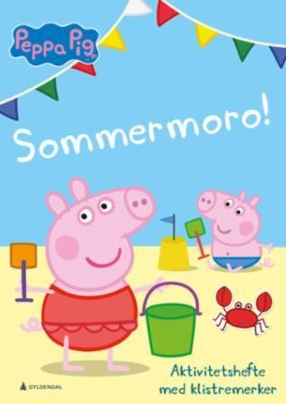 Peppea Pig. Sommermoro! Aktivitetshefte med klistremerker