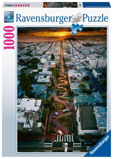 Puslespill 1000 San Francisco Lombard Ravensburger