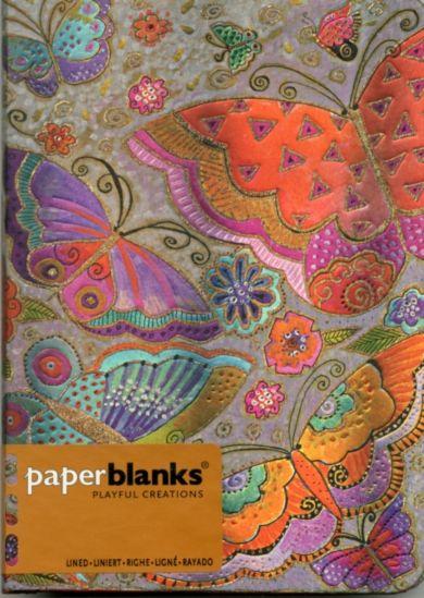 Notatbok Paperblanks Flutterbyes Midi Linj