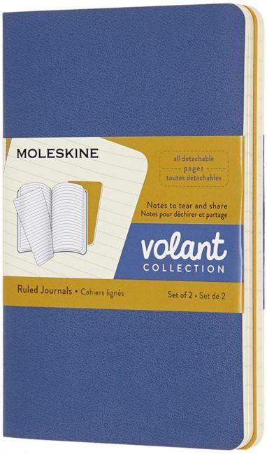 Notatbok Moleskine Volant Soft 2pk P - Linjert FBl