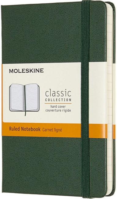 Notatbok Moleskine Classic Hard P - Linjert Myrtle