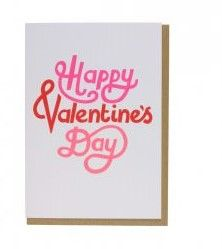 Kort PC Val Happy Valentines Day