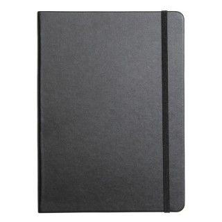 Notatbok Agenzio B5 Dots Hardcover Sort 240s
