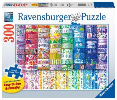 Puslespill 300 Papir Tape Ravensburger
