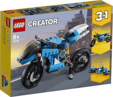 Lego Supermotorsykkel 31114