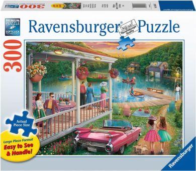 Puslespill 300 Sommer Ved Innsjøen Ravensburger