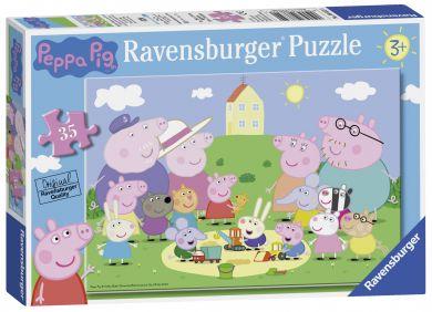 Puslespill Ravensburger 35Peppa Pig