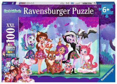 Puslespill Ravensb 100 Enchantimals