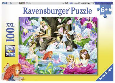 Puslespill Ravensburger 100 Magiske Feer