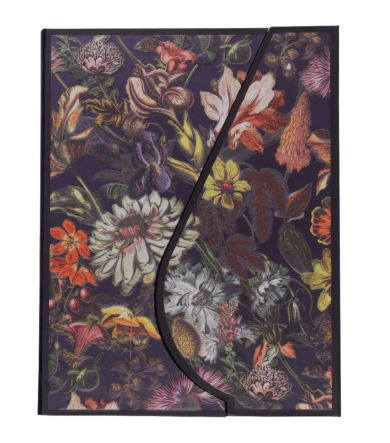 Notatbok A5 Magnetic Dark Floral