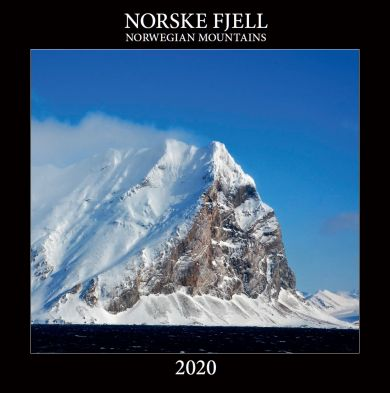 Kalender 2020 Baccara 30x30 Norske fjell