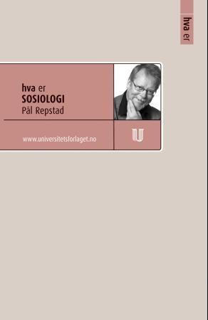 Hva er sosiologi