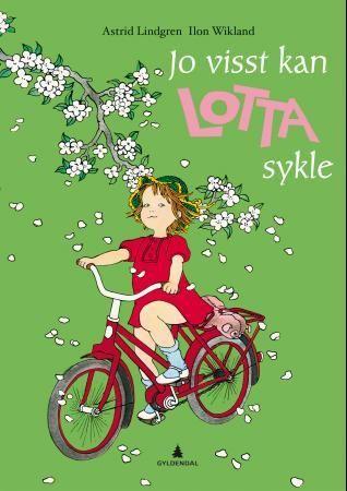 Jo visst kan Lotta sykle