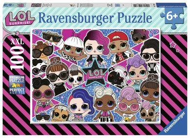 Puslespill 100 Lol Surprise Ravensburger