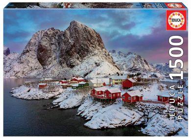 Puslespill 1500 Norge Lofoten Island Educa