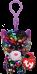 Bamse Ty Dotty Regnbue Glitter Leopard Clip