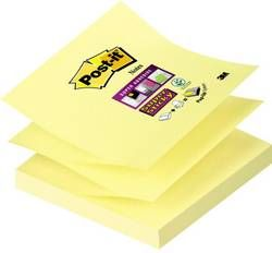 Post-It Z-Notes Superst Gul 76X76Mm