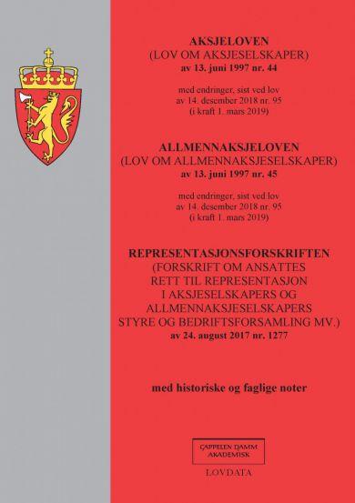 Aksjeloven ; Allmennaksjeloven : (lov om allmennaksjeselskaper) av 13. juni 1997 nr.45 : med endring