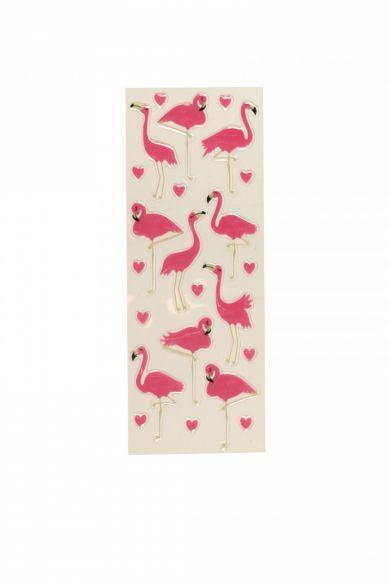 Stickers Flamingos Slim