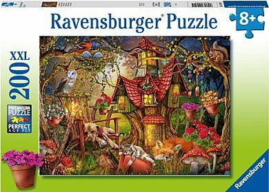 Puslespill 200 Huset I Skogen Ravensburger