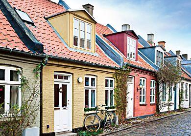 Puslespill 1000 Hus I Aarhus, Danmark Ravensburger