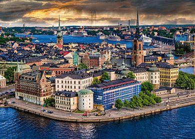 Puslespill 1000 Stockholm, Sverige Ravensburger