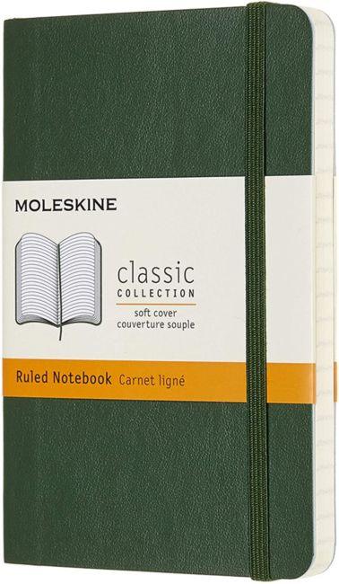 Notatbok Moleskine Classic Soft P - Linjert Myrtle