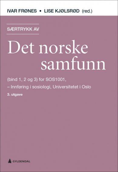 Særtrykk av Det norske samfunn (bind 1, 2 og 3) for SOS1001