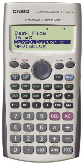 Kalkulator Casio FC-100V
