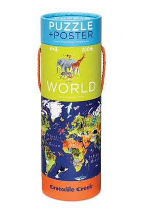 Puslespill CC M Poster World 200